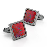 Cufflinks Square Custom