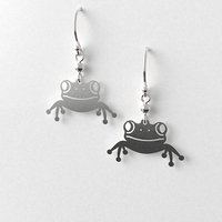 Tree Frog Earrings