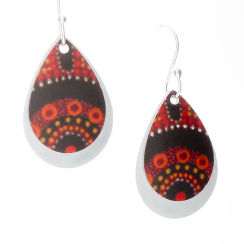 Earrings Gathering Bushfood