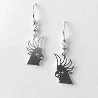 Cockatoo Earrings